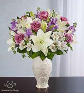 Loving Blooms Lav & White Lenox