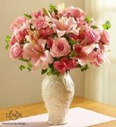 Loving Blooms™ Lenox® Pink Fresh Arrangement