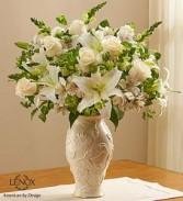 Loving Blooms™ Lenox® White Fresh Arrangement