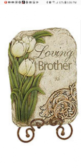 Loving Brother plaque