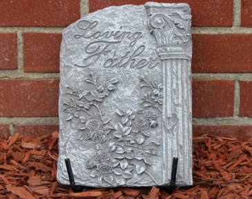 Loving Father plaque