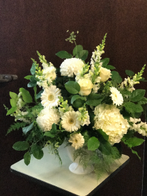 Loving Grace Container Arrangement