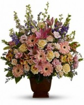 Loving Grace Funeral Basket