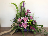 Loving Grace Sympathy arrangement