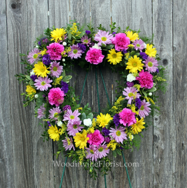 Loving Heart Open Heart Wreath