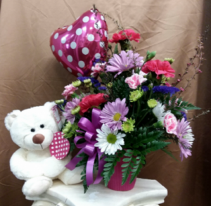 Loving Hearts Bear Valentine's Day  in Mount Pleasant, TX | DESIGNS BY LISA
