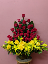 Loving husband  vase