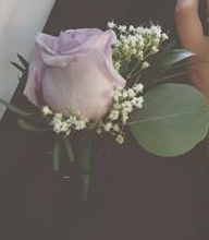 Loving Lavender Boutonniere