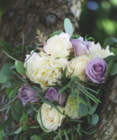 Loving Lavender Bridal Bouquet