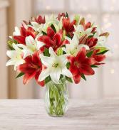 Loving Lilies Vase Arrangement