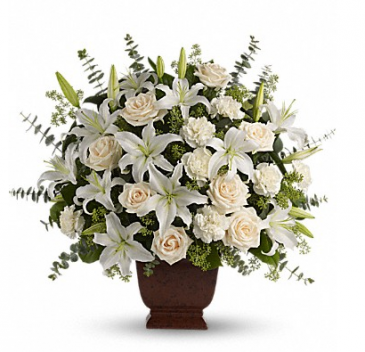 Loving Lilies  Sympathy Arrangement