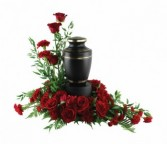 Loving Memorial Wreath Wreath   Urn Not Included