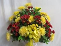 Loving Memories Fresh Funeral Basket