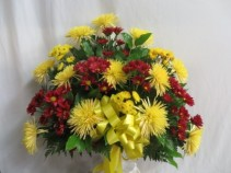 Loving Memories Fresh Funeral Basket