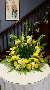 Loving Memories Urn Wreath