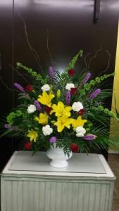 Loving Memory Flower Arrangement