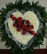 LOVING MEMORY HEART Sympathy Tribute Heart
