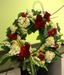 Loving Memory Wreath Funeral Wreath