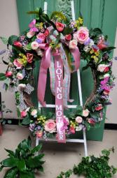 Loving Mother - Silk Wreath