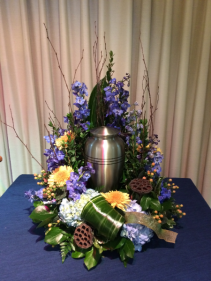 Loving Peace Urn Arrangement (urn not included)