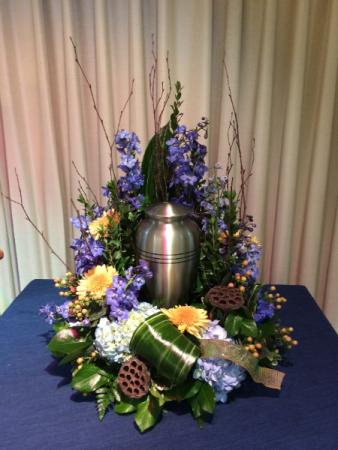 Loving Peace Urn Arrangement (urn not included)