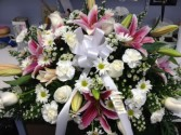 Loving Rememberance Casket Spray Casket Flowers