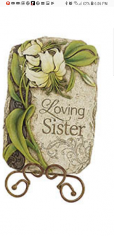 Loving Sister plaque