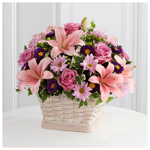 Loving Sympathy™ Basket by FTD  in Valley City, OH | HILL HAVEN FLORIST & GREENHOUSE