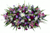 Loving thoughts forever   Casket Flowers