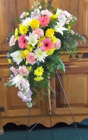 Loving Thoughts FUNERAL EASEL