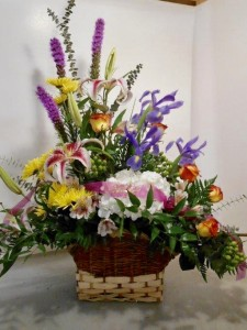 Loving Thoughts Deluxe Sympathy Arrangement