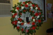 Loving Tribute Wreath Sympathy Wreath