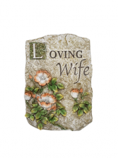 Sympathy Plaque - Loving Wife
