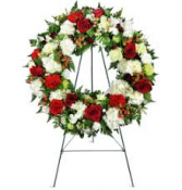 LOVING WREATH 3 STANDING FUNERAL PC