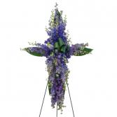 Lovingly Lavender Cross Standing Cross