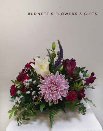 Low Table Center piece  Wedding flowers