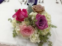 Low Table piece Table Arrangement