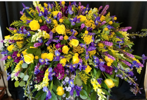 LSU TRIBUTE  in Baton Rouge, LA | FLOWER BASKET