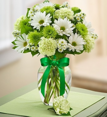 Luck O' The Irish Vase Arrangement