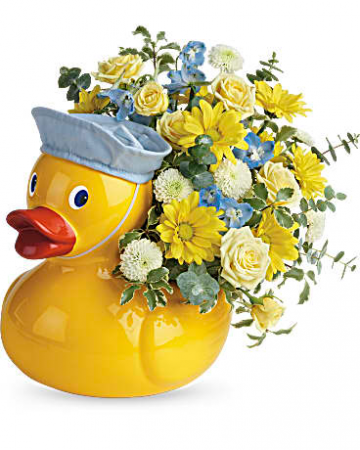 Lucky Ducky Bouquet New Baby
