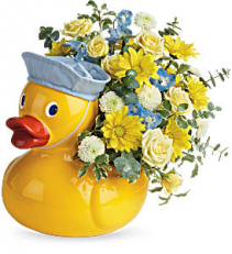 Lucky ducky Boy Arrangement  TNB09-1 Keepsake Arrangement