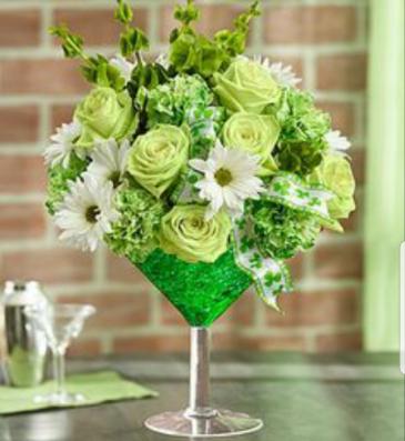 Lucky Green Martini