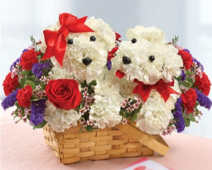 Lucky in Love™ Couple Arrangement in Croton On Hudson, NY   Cooke's Little Shoppe Of Flowers