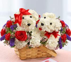 Lucky in Love Basket in Orlando, FL | Artistic East Orlando Florist