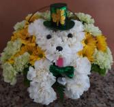 Lucky Puppy Basket