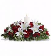 Luminous Lilies Christmas Flowers