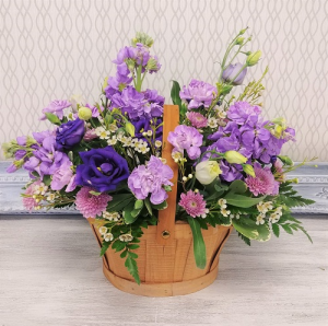 Luscious Lavender Basket Design  in Winter Springs, FL | WINTER SPRINGS FLORIST AND GIFTS