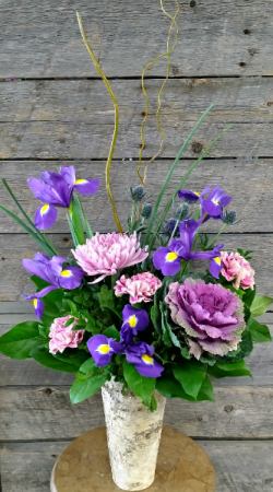 Luscious Lavender Container in Calgary, AB | LUXE FLORIST