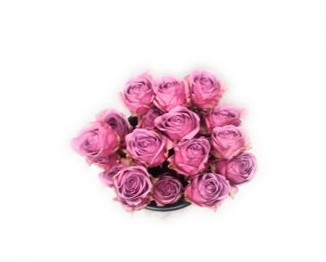 Luscious Lavender Roses Wrap arrangement