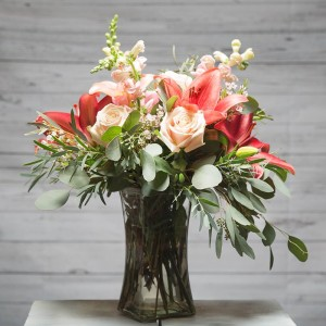 Lush and Beautiful Vase arrangement